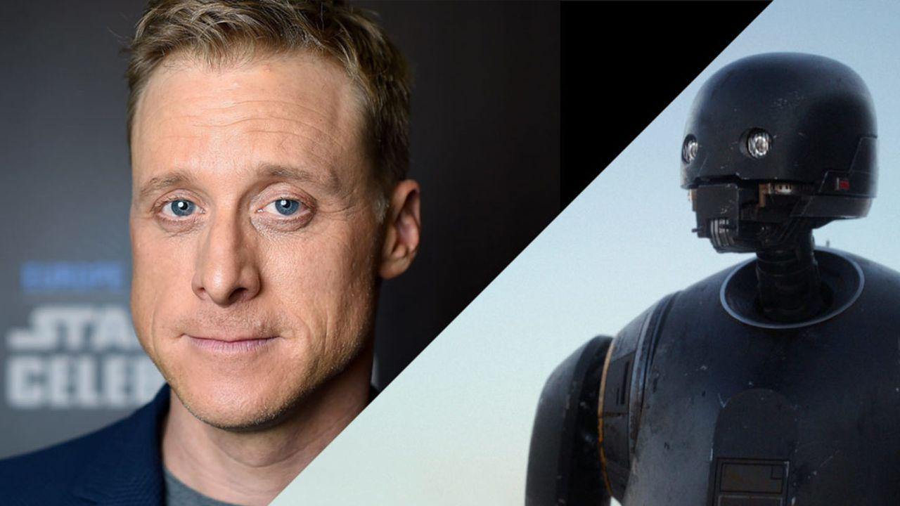 Rogue One, Alan Tudyk: 'lo sceneggiatore Tony Gilroy ha cambiato il film'
