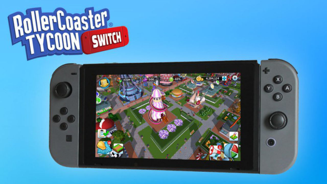 RollerCoaster Tycoon Adventures esce su Nintendo Switch in