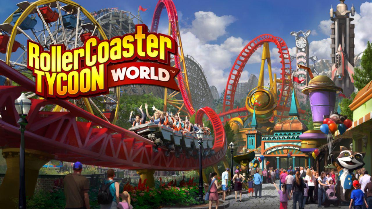 Rollercoaster Tycoon World è stato rimandato al 2016