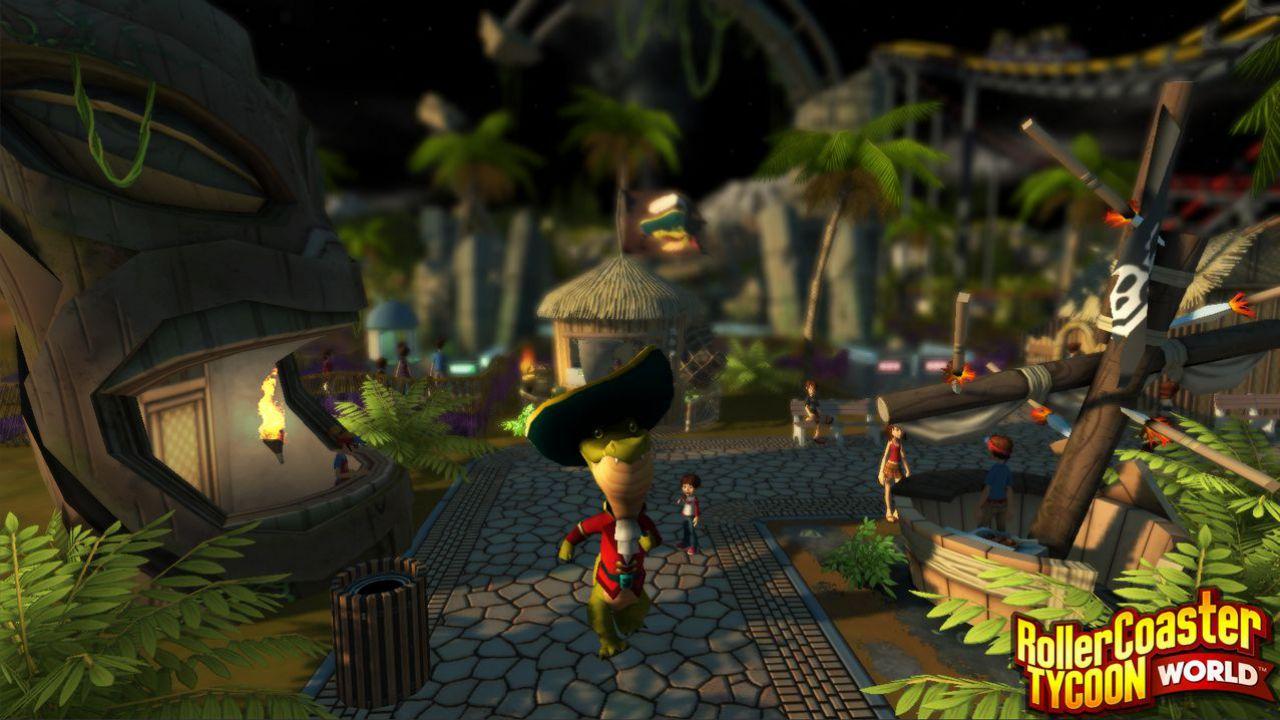 RollerCoaster Tycoon World: la versione retail sarà distribuita da Bandai Namco in Europa