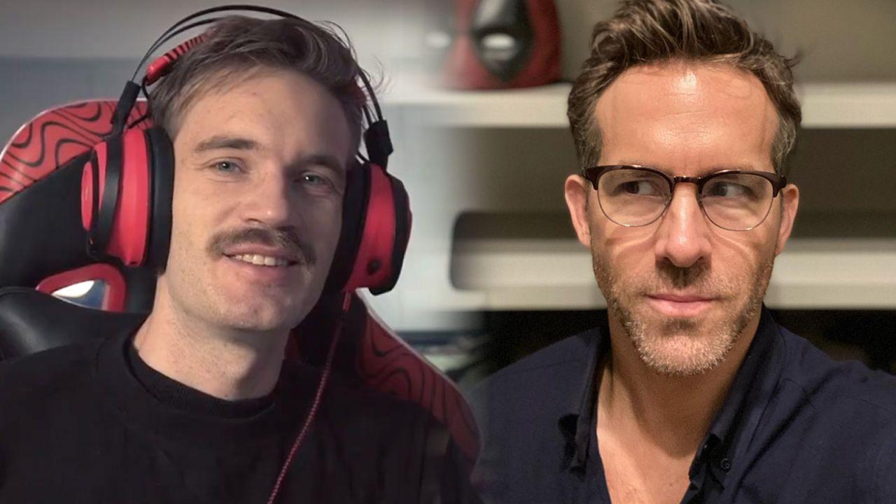 Ryan Reynolds, PewDiePie ricorda il suo divertente incontro con la star di Deadpool