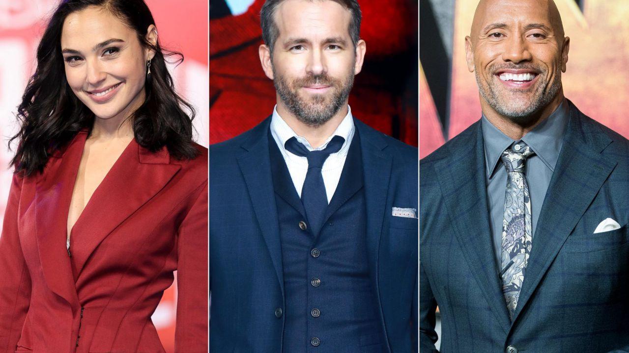 Ryan Reynolds, sei un grande: ecco cosa ha fatto per la troupe di Red Notice!