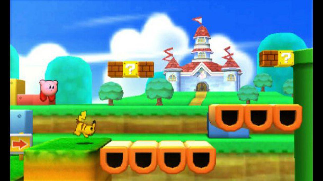 Ryu, Roy e Lucas combattono in Super Smash Bros