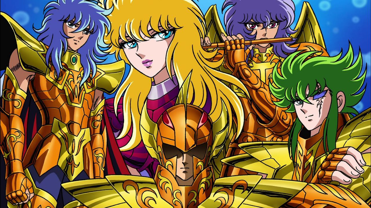 Saint Seiya: quali sono le caratteristiche delle Armature di Scaglie d'oro?