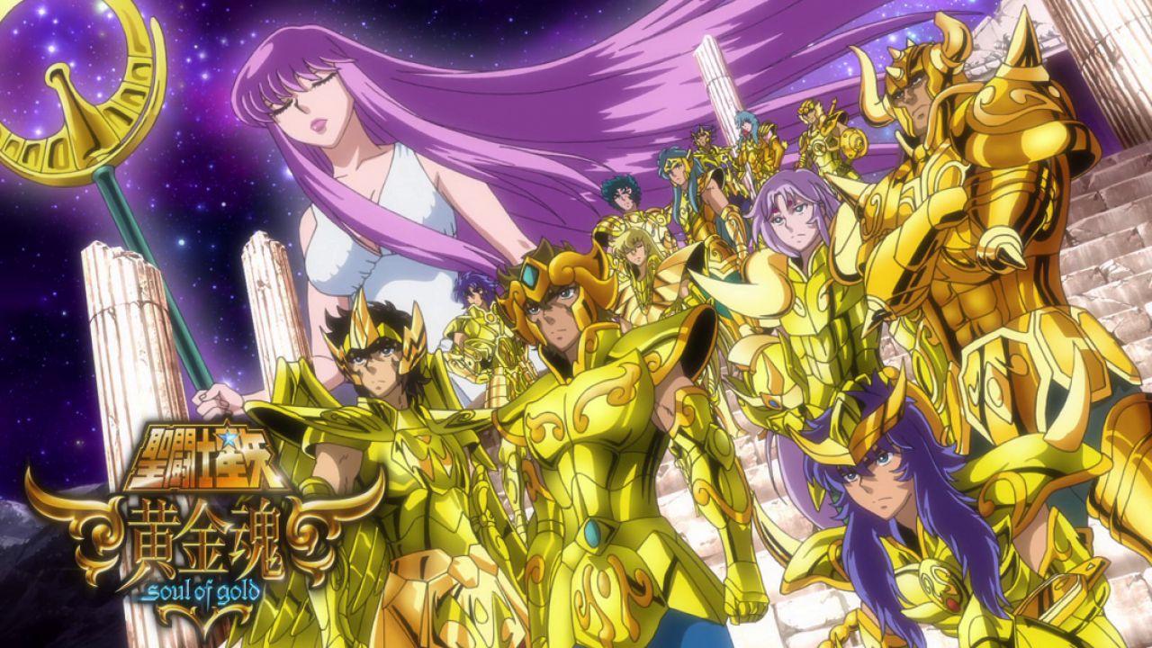Saint Seiya: i Cavalieri d'Oro alle spalle di Atena nell'ultima figure di AS Studio