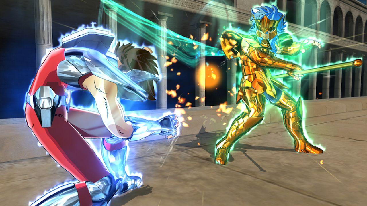 Saint Seiya Soldiers' Soul girerà a 1080p e 60fps su PC e PS4