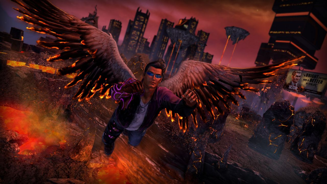 Saints Row Gat out of Hell - Gameplay - Replica Live 19/01/2015