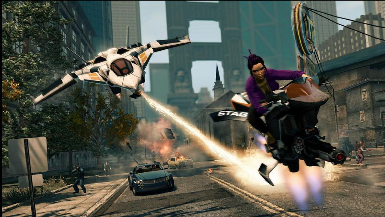 Saints Row The Third: trailer per il DLC 'Gangstars in Space', disponibile ora su Xbox Live
