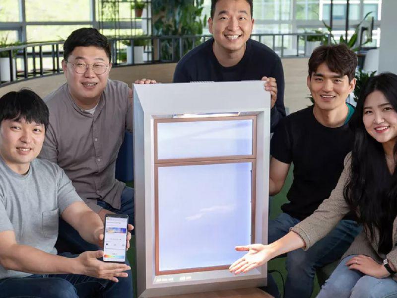 Samsung, le false finestre con la luce artificiale: è giorno anche di notte
