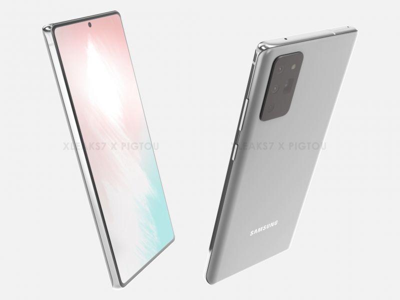 Samsung Galaxy Note 20 si mostra in nuove immagini, è realmente lui?