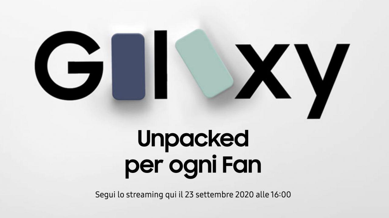 Samsung, nuovo Unpacked il 23 Settembre: arriva l'S20 Fan Edition