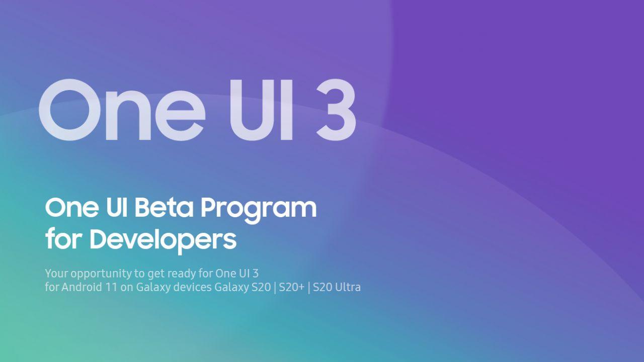 Samsung One UI 3.0 arriva nella sua prima beta: ecco tutte le nuove funzioni e novità