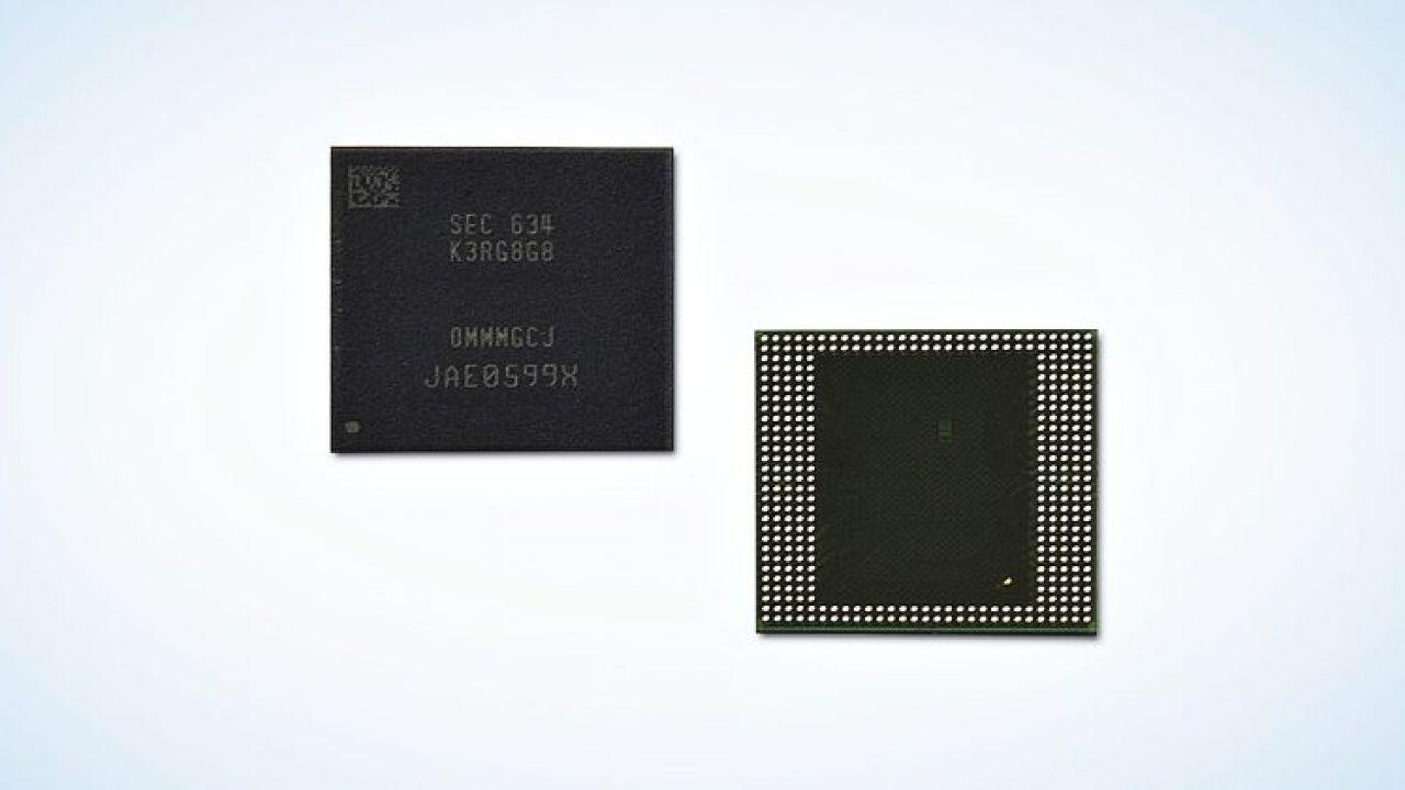 Samsung annuncia i primi chip LPDDR4 da 8 GB