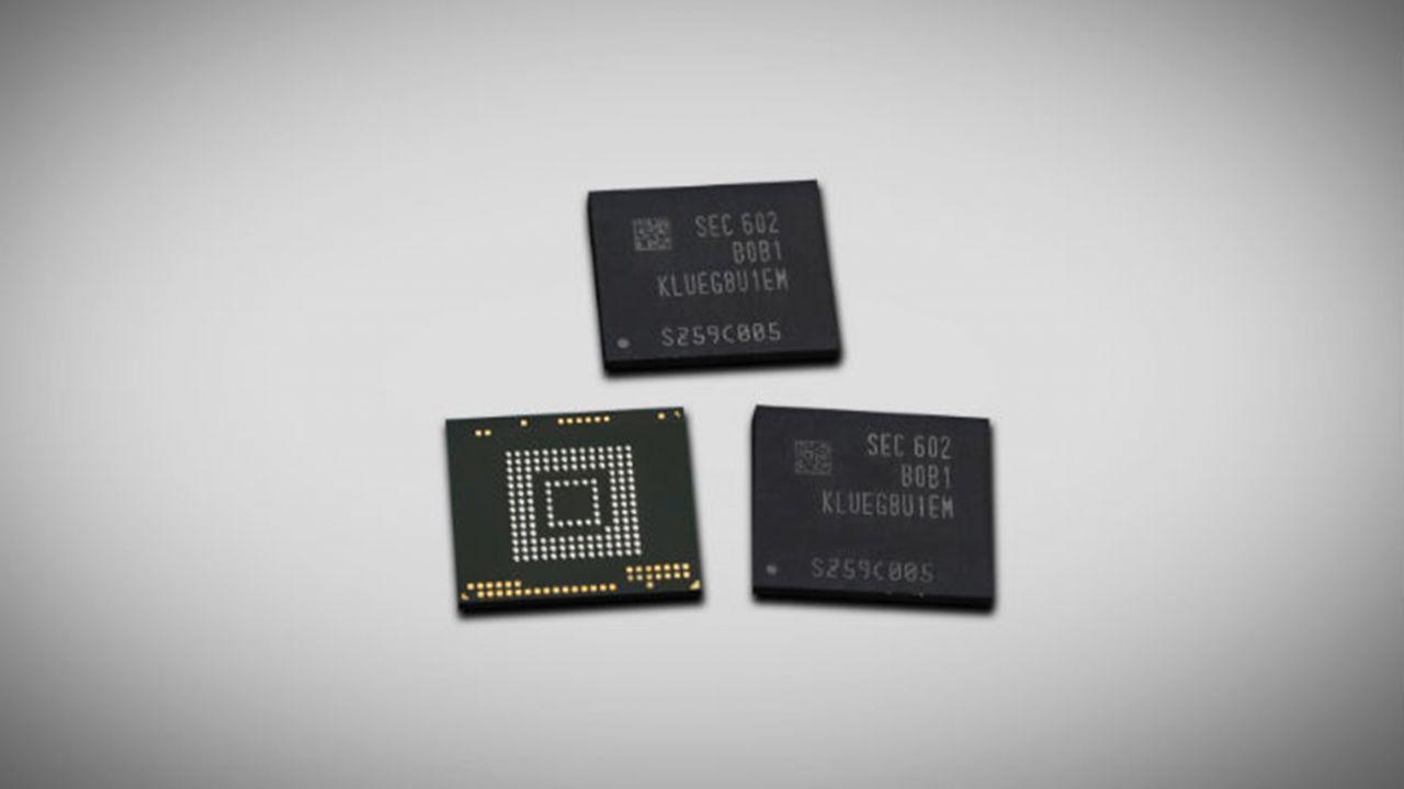 Samsung: in arrivo nuove memorie UFS 2.0 da 256GB