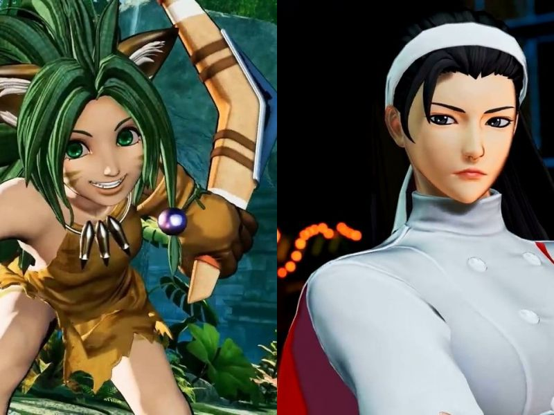 Samurai Shodown and The King of Fighters XV: SNK presents the new female fighters