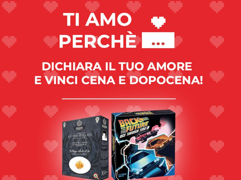 Valentine's Day with GameStopZing: declare your love and win dinner and after dinner