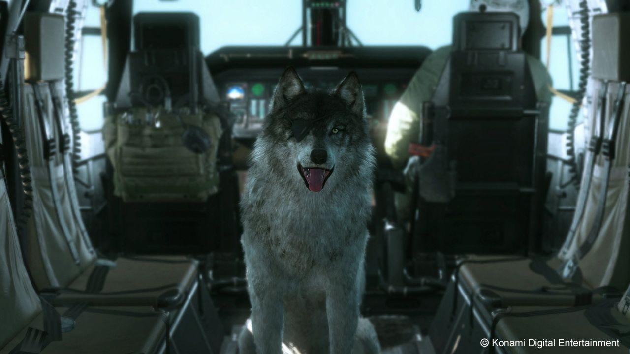 Sarà possibile addestrare diversi cuccioli di lupo in Metal Gear Solid V: The Phantom Pain