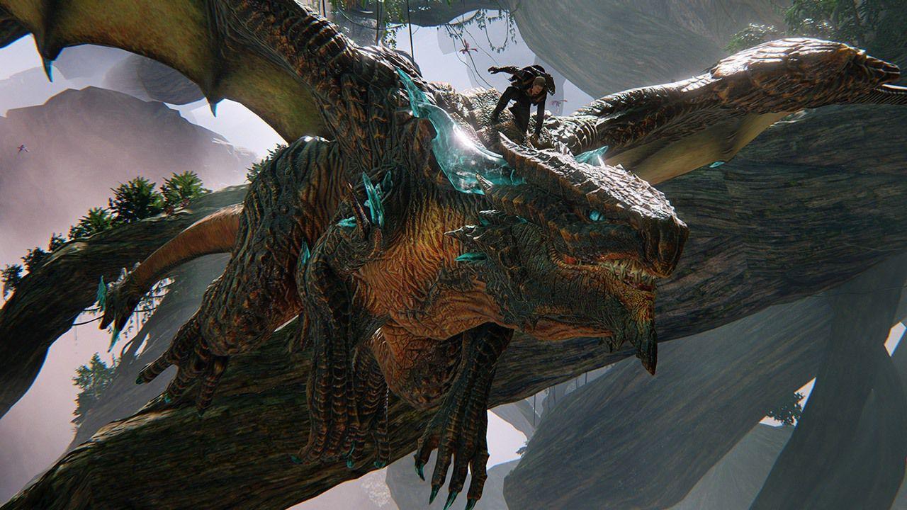 Scalebound permette di personalizzare il dragone