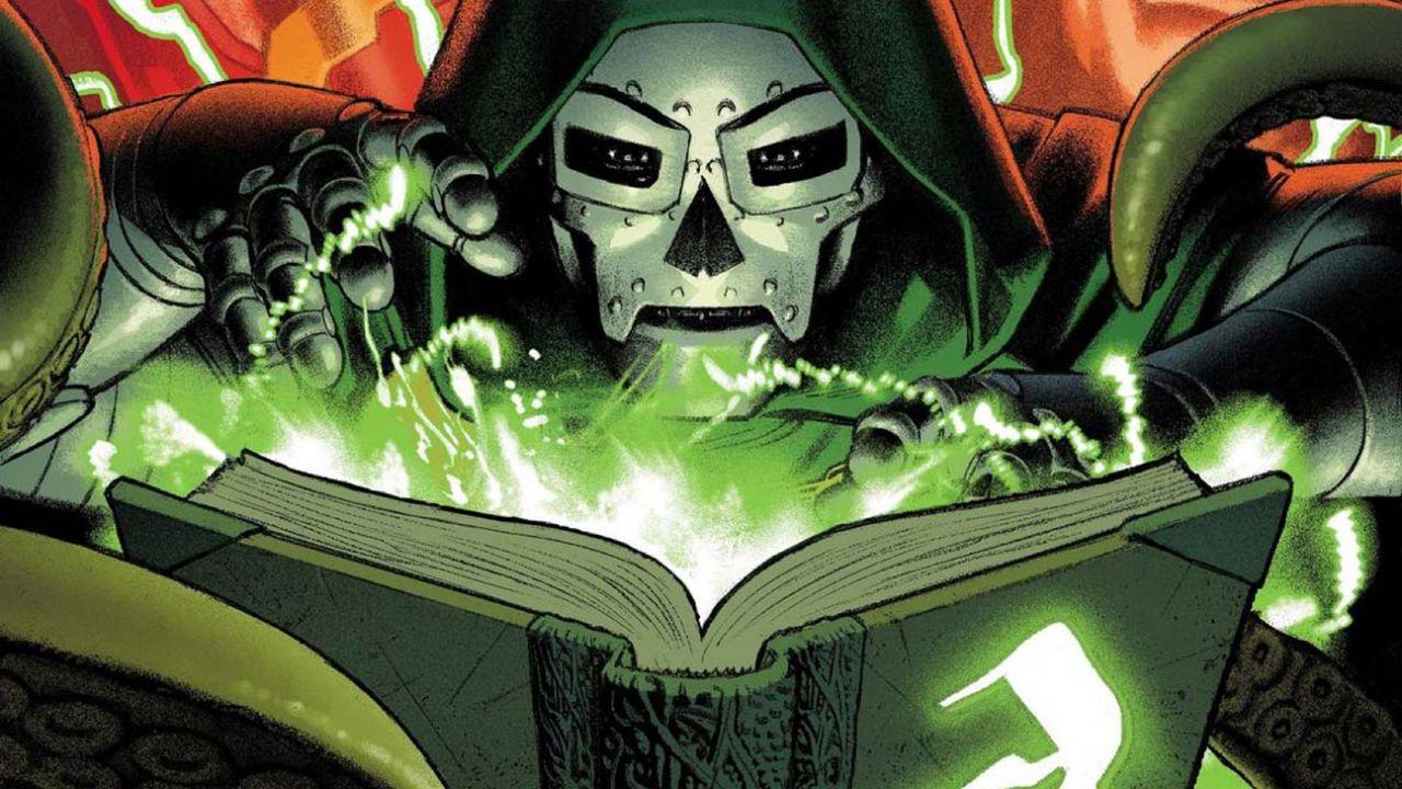 Scarlet e Doctor Doom tornano in Darkhold Alpha, la serie a tinte horror di Steve Orlando