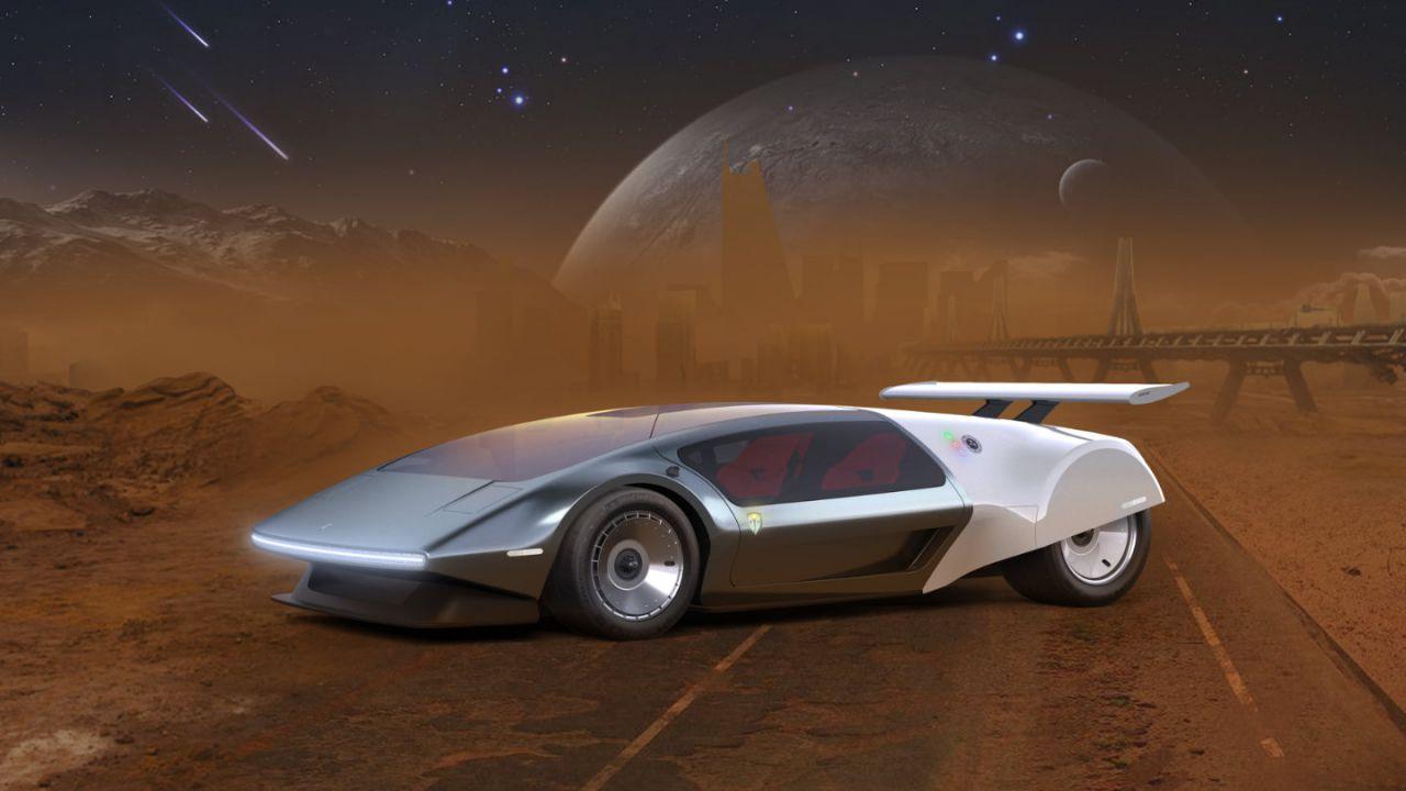 SCG 009 Concept: una supercar sospesa tra gli anni 70 e il futuro