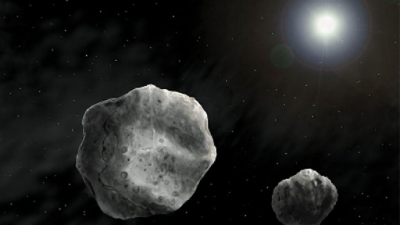 Scienziati hanno recentemente osservato un asteroide binario 'vicino' alla Terra