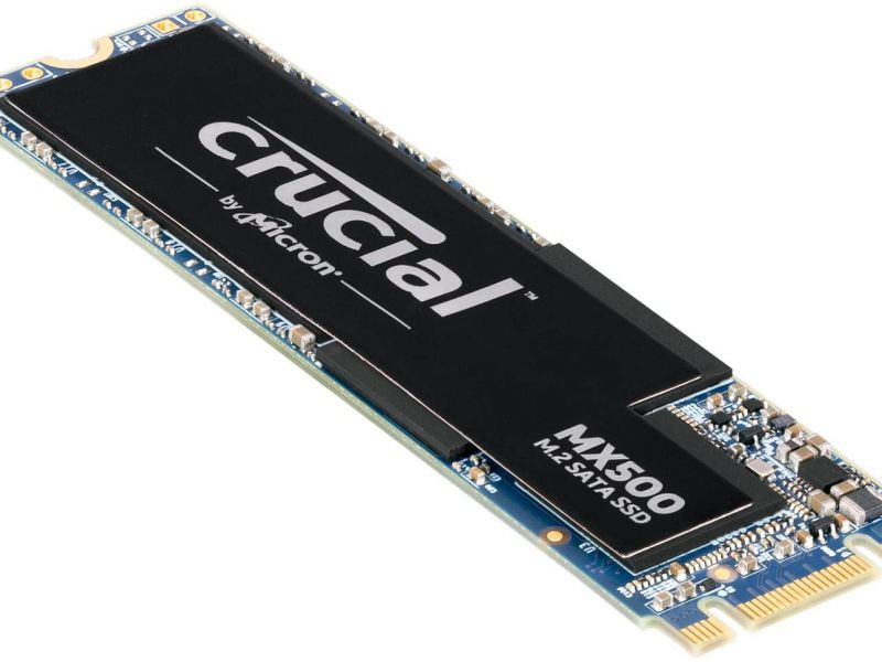 Sconti Amazon: in offerta l'SSD Crucial MX500 da 1 terabyte