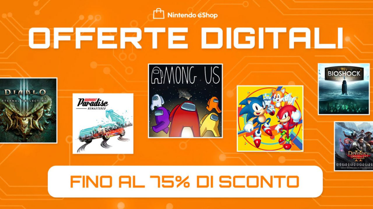 Sconti Nintendo eShop: al via le Offerte Digitali su tantissimi giochi Switch