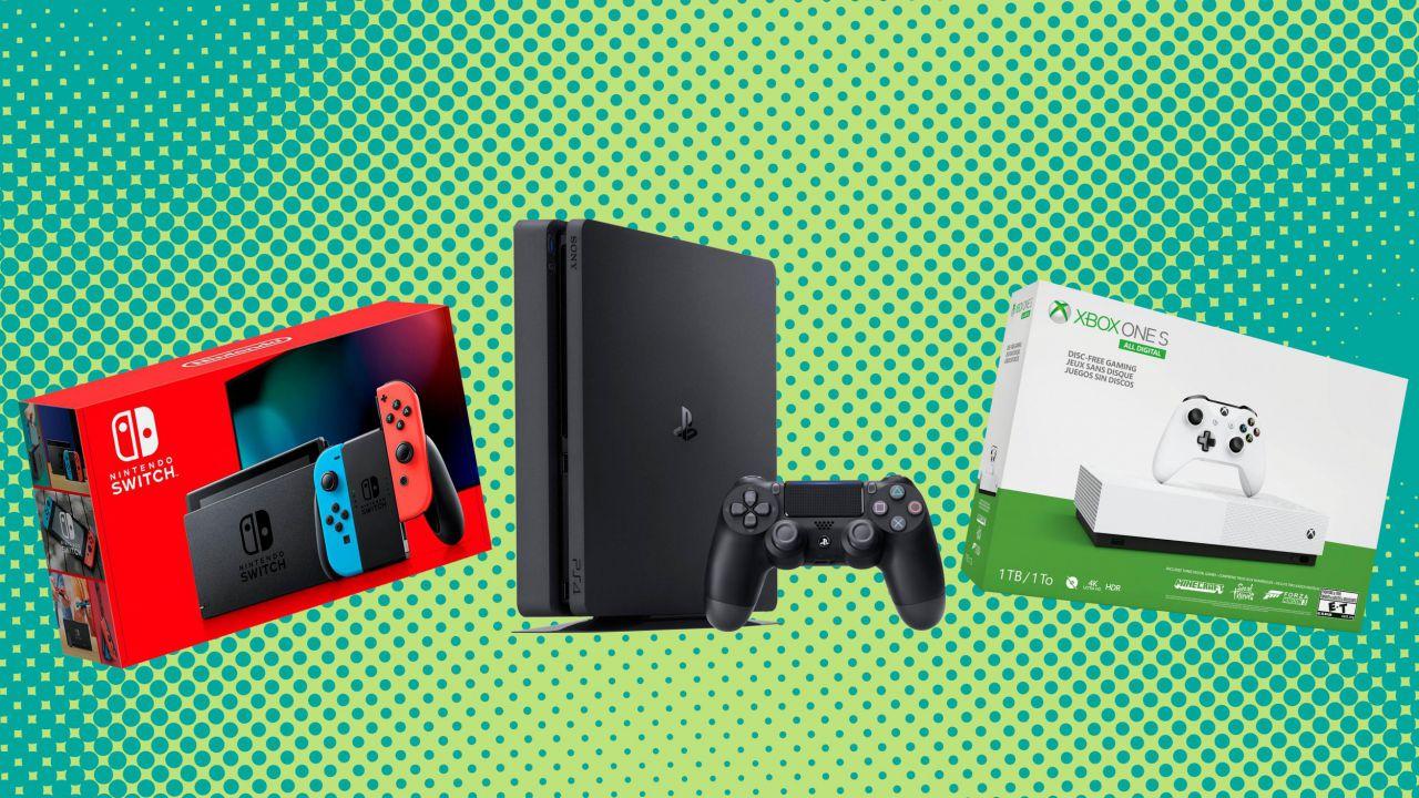 Sconti PS4, Nintendo Switch e Xbox One: le offerte del Black Friday sulle console