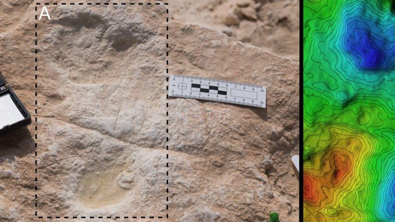 Scoperte impronte umane di 120.000 anni fa in Arabia Saudita