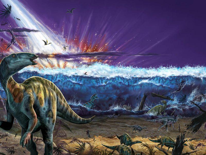 Scoperto il cimitero dell'asteroide che colpì la Terra 66 milioni di anni fa