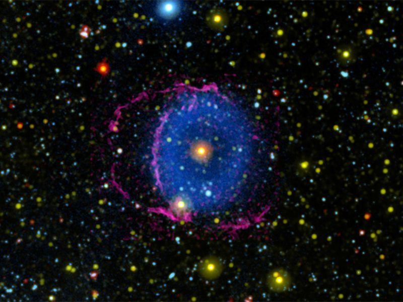 Scoperto il segreto che si celava dietro la misteriosa 'Nebulosa ad Anello Blu'