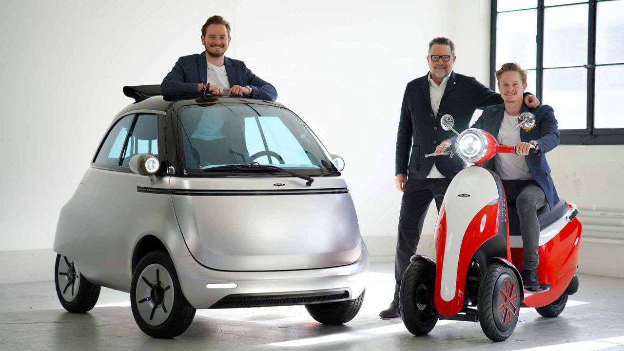 Scopriamo Microlino 2.0 e Microletta, microcar e scooter a tre ruote EV