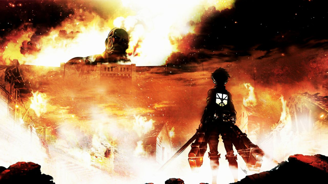 Screenshot e concept art per Attack on Titan