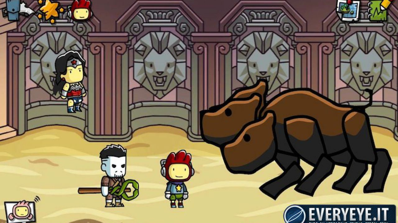 Scribblenauts Unmasked: nuovo video gameplay dal Comic-Con