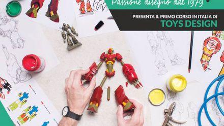 Scuola del Fumetto di Milano: al via il primo corso di Toy Product Design