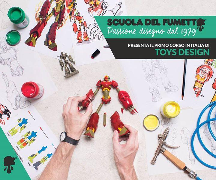 Scuola del fumetto di milano al via il primo corso di toy for Scuola del design polimi
