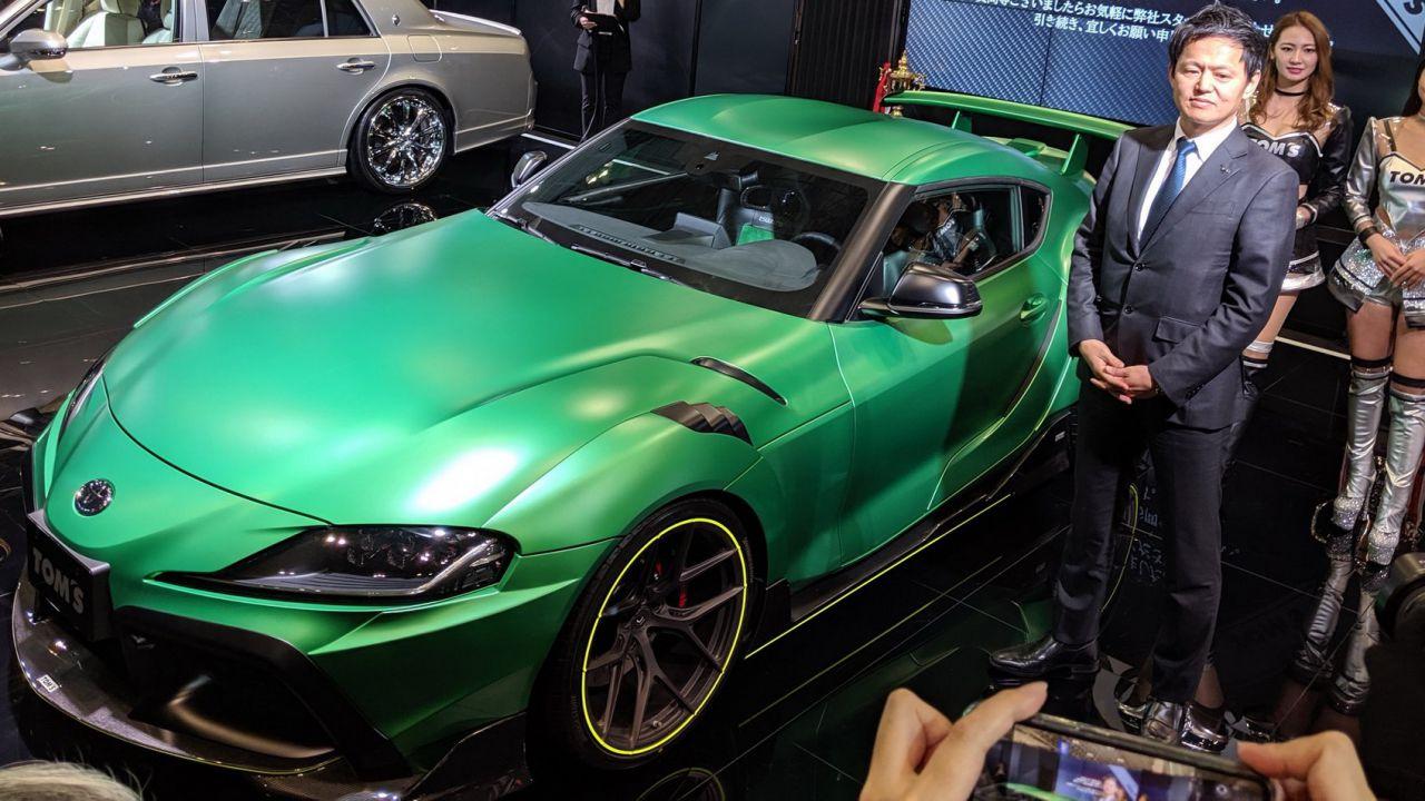 Se Hulk avesse un'auto sarebbe senz'altro questa fantastica Toyota Supra