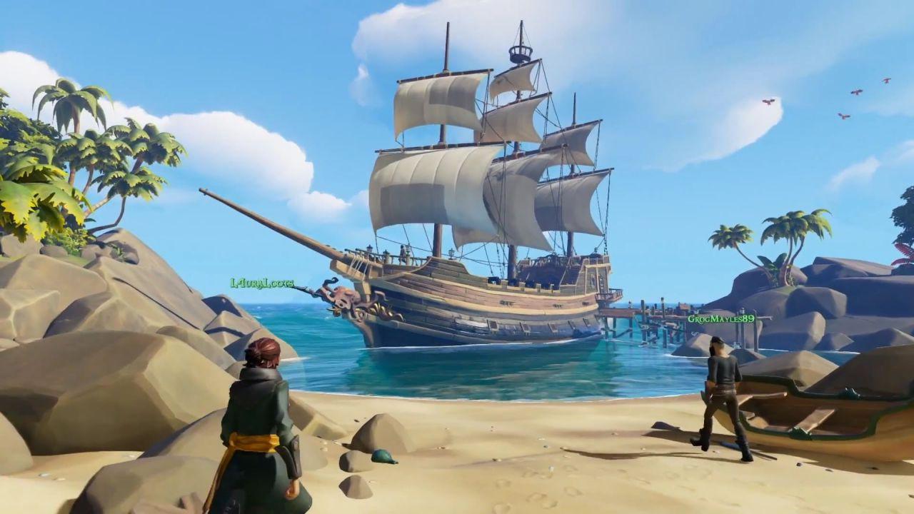 Sea of Thieves: 10 minuti di gameplay dal Comic Con