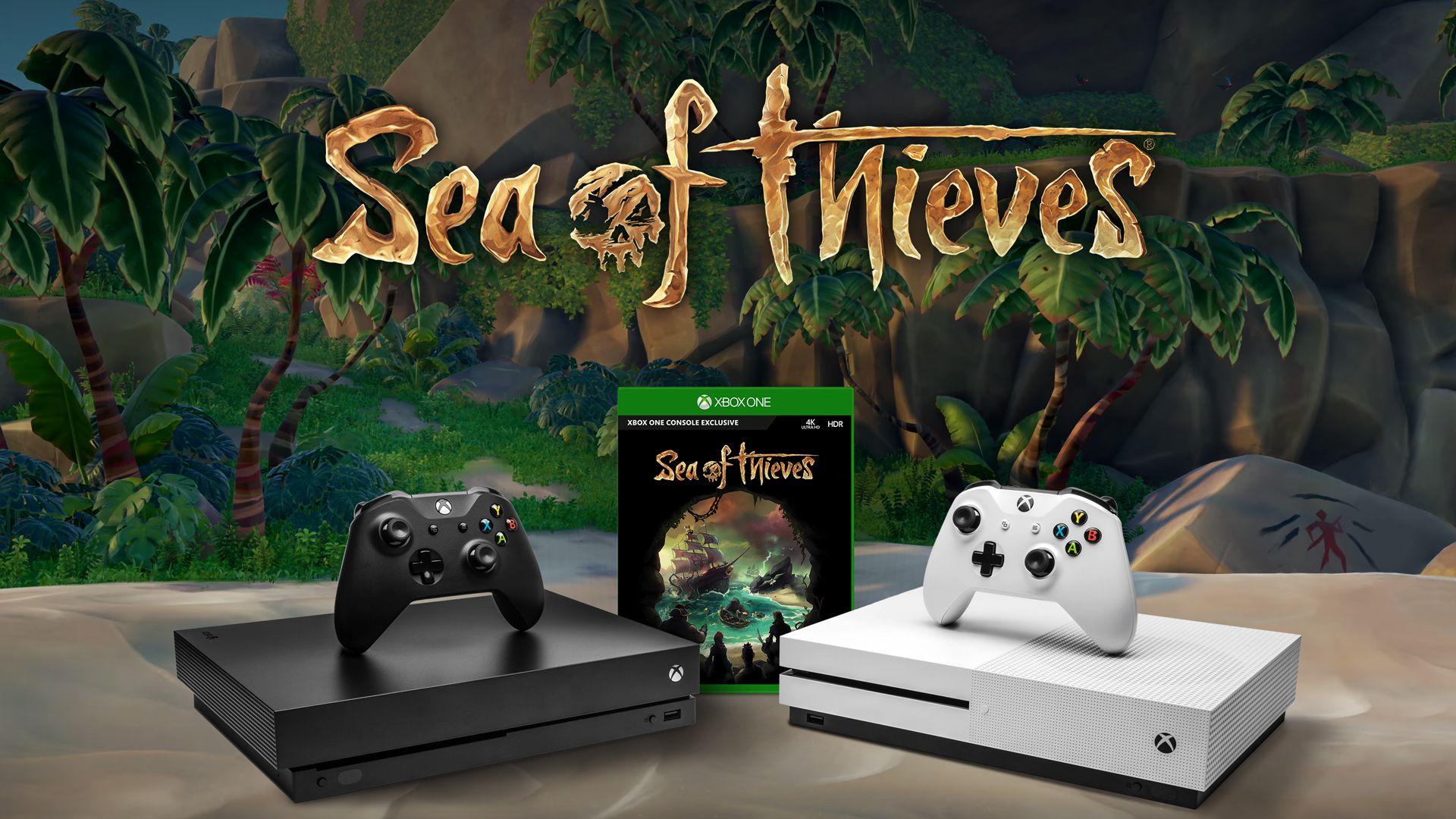 Sea of Thieves in regalo con l'acquisto di una Xbox One X dal 18 al 24 marzo