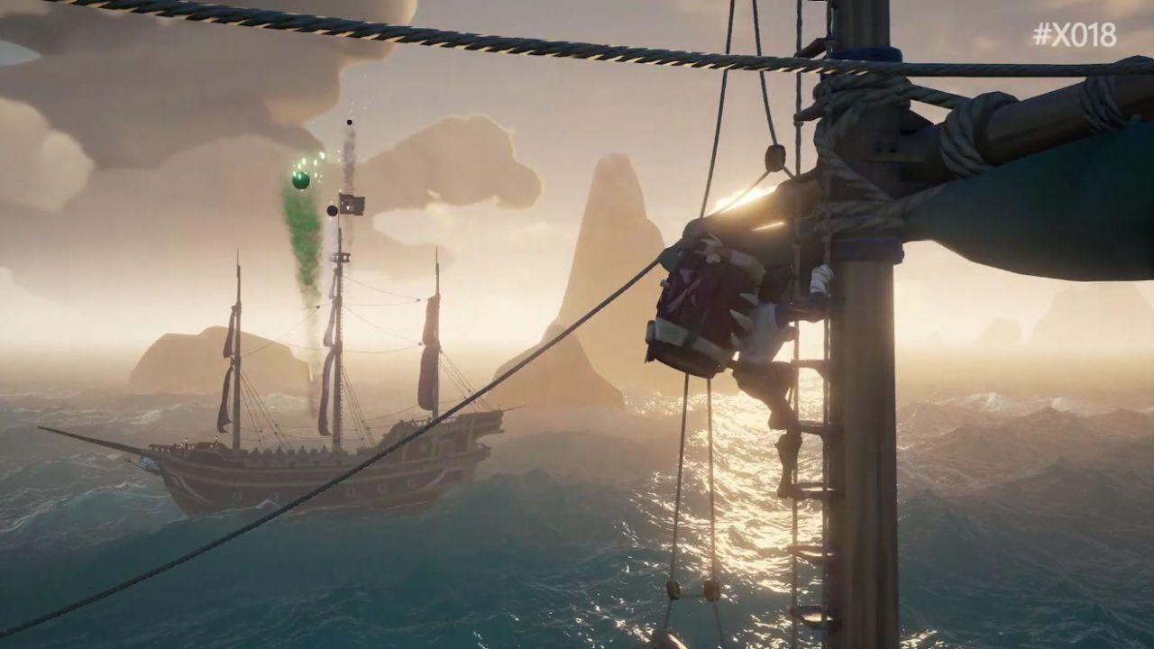 Sea of Thieves paura del mare? Rare ha pensato anche alla talassofobia