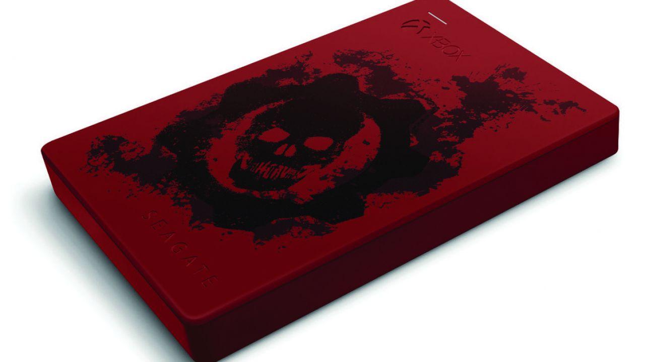 Seagate lancia un hard disk esterno personalizzato per Gears of War 4
