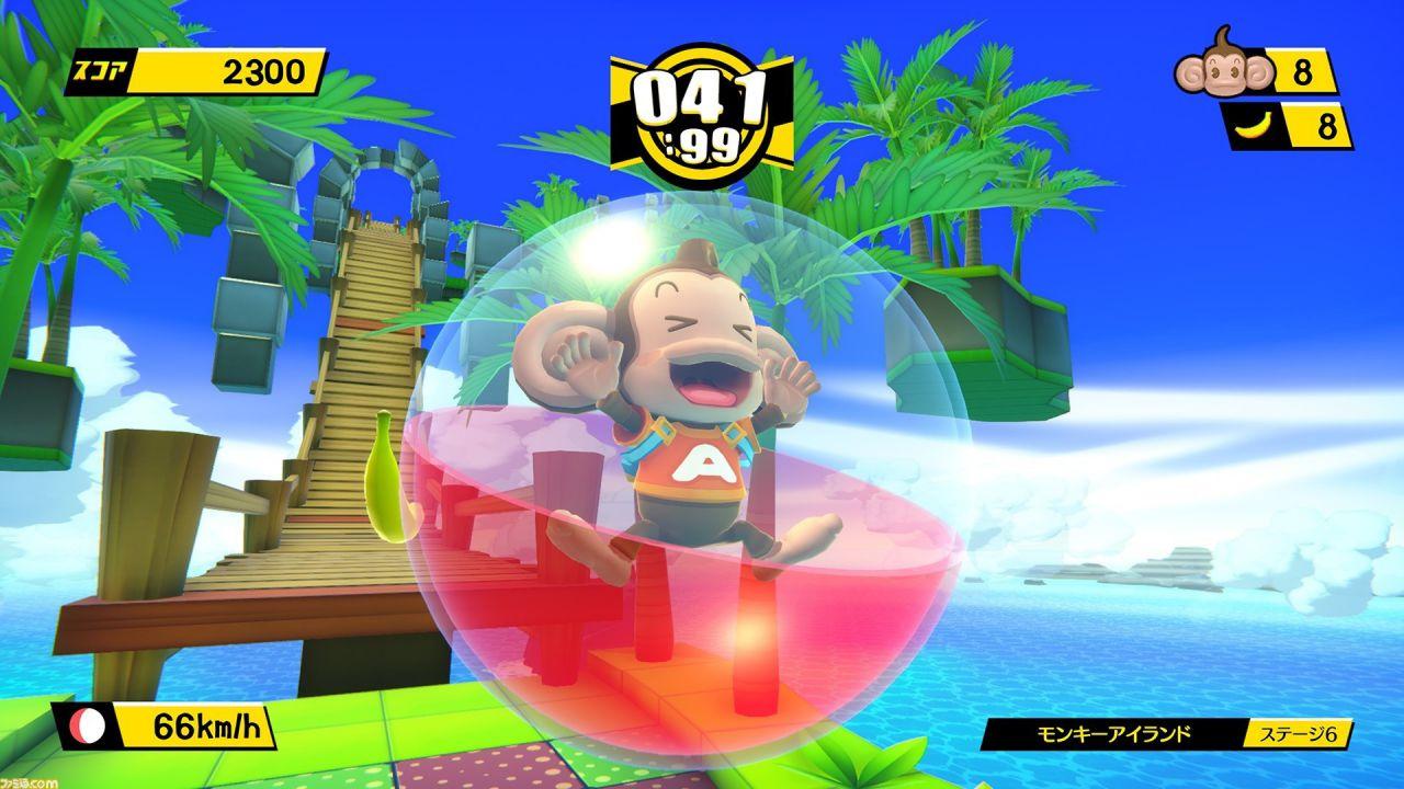 SEGA annuncia Tabegoro! Super Monkey Ball, il remake per PC, PS4 e Switch di Banana Blitz