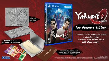 SEGA annuncia Yakuza Zero: The Business Edition