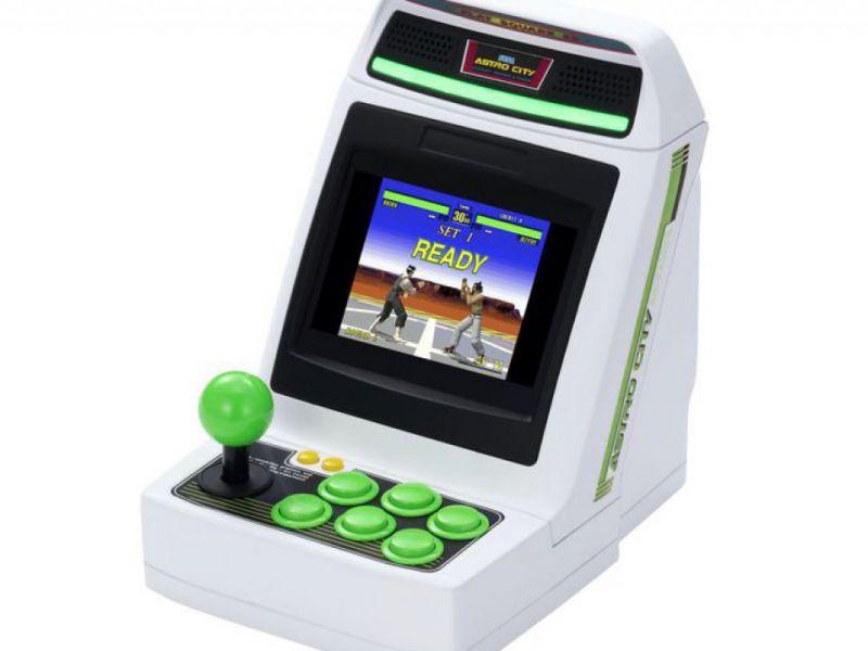 SEGA Astro City, the mini arcade cabinet arrives in the West