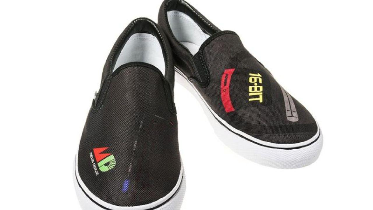 SEGA: in arrivo le scarpe ispirate a Mega Drive, Saturn e Dreamcast