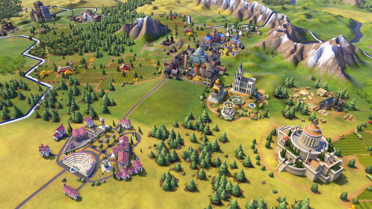 Sei minuti di gameplay per Sid Meiers Civilization VI