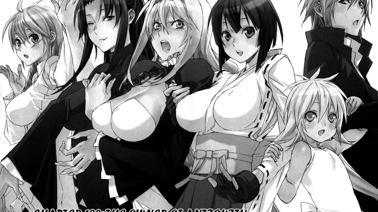 Sekirei, conclusione imminente per il manga di Sakurako Gokurakuin