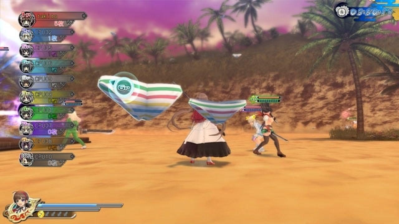 Senran Kagura Estival Versus, nuove immagini e dettagli sul multiplayer