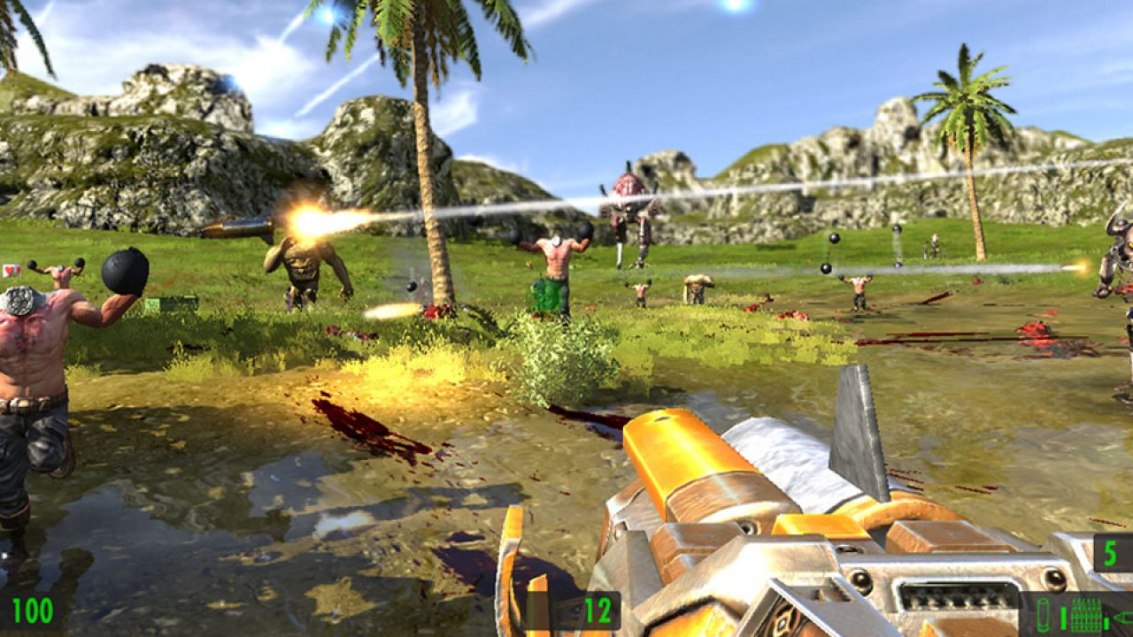 Serious Sam HD: The First Encounter, demo disponibile su Steam