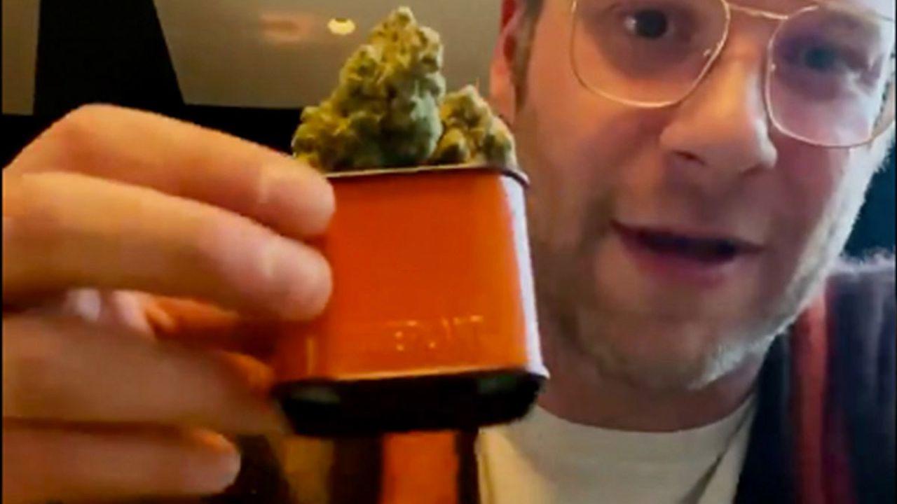 Seth Rogen lancia la sua produzione di cannabis: ecco come si chiama